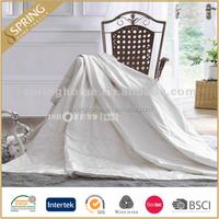 100-percent cotton quilt/50/50 silk duvet/silk comforter