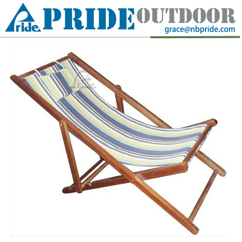 Outdoor Cheap Beach Chairs Wholesale Canvas And Wood Beach Chairs Folding Woo