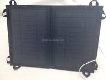 Thin film 8 Watts flexible solar charger, flexible solar panel for mobile phone