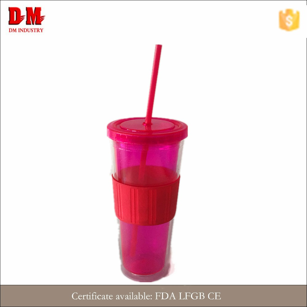 China 16OZ FDA economical plastic silicone rubber cup sleeve
