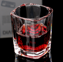 Clear Thick Bottom Heavy Weight 50ml Shot Glass