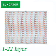 PCB board for LED light bar, FR-1 material customized PCB assembly