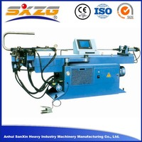50mm stainless steel pipe exhaust square tube bending machine, exhaust pipe bending machine