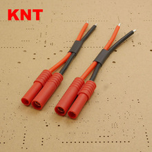 KNT 2 wire Male Female connector HXT4MM battery cable For RC Model