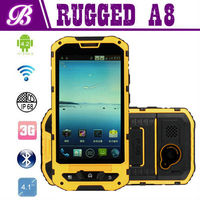best chinese brand cell phones 4.0 inch Dual Core MTK6572 land rover a8 android 4.2 waterproof phone