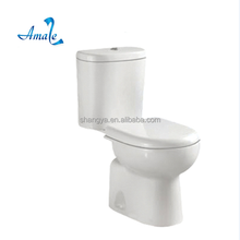 Sanitary ware two piece bathroom toilet for middle east market washdowm floor mounted toilet bowl brand