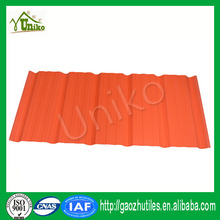 PVC roof plastic sheet for prefabricated wooden houses insulated roofs prices