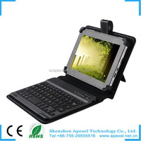 Removable Wireless Bluetooth Keyboard Case for iPad Mini Made in China