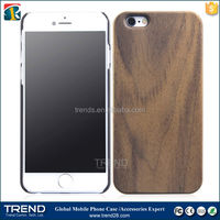 cheap wood plastic hard protective case for iphone 6