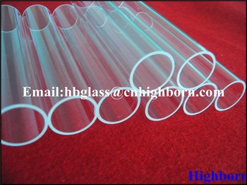 Different size Quartz Tube for Thermocouple