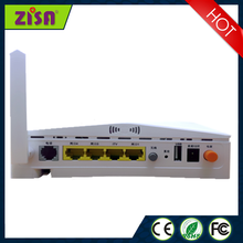 onu gepon wifi 4GE+VOIP+USB epon for residential broadband services