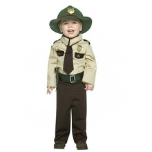 Factory Sales Soldier & Police Uniform Career Costume Masquerade Kids Costume