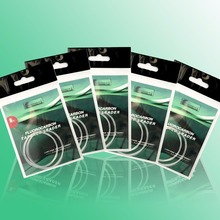 Fluorocarbon tapered shock leader 2pcs pack