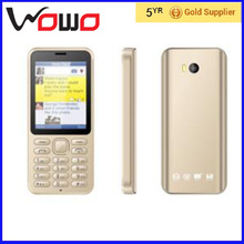 very cheap price bar design 2.8 inch small size 3G mobile phone D5 dual sim card cell phone