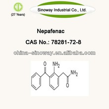 Nepafenac CAS No.: 78281-72-8 from 26 years experience company