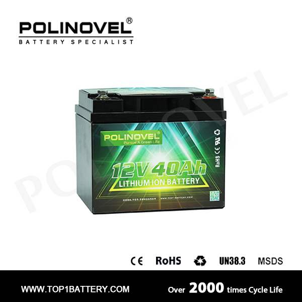 12V 40Ah Lithium Battery Pack Lifepo4 Battery 12V
