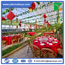 Cheap Polycarbonate Sheet Eco Restaurant Greenhouse used commercial