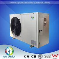 Super high COP micro heat pump 12v/24v water heating/cooling