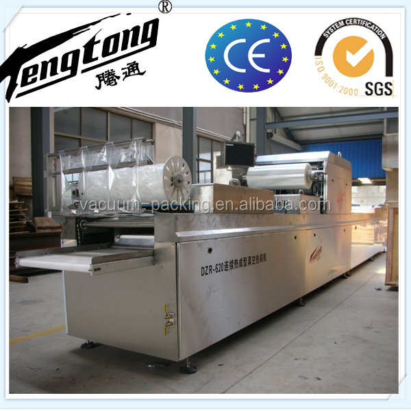 CE certificate New condition automatic thermoforming fruit and vegetable vacuum packing machine