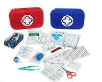 First Aid Kit for Survival and Minor Emergencies Light, Compact, and Comprehensive - Perfect for Home, Auto, Office