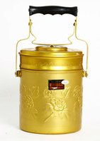 Aluminium gold Bangkok Single Food Carrier