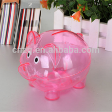 2017 Factory Price Promotional Kids Coin Saving Piggy Bank