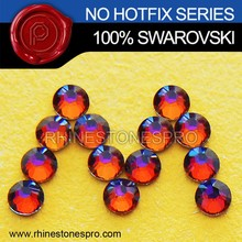 Swarovski Elements Volcano (VOL) 16ss Flat Back Crystal No Hotfix Rhinestone