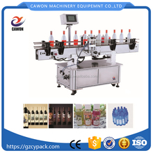 Automatic Can Tomato Canning Bottle Jam Round Labeling Machine
