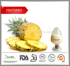 100% Natural Pineapple Extract powder, High Quality Ananas sativus extract, Bromelain 10:1