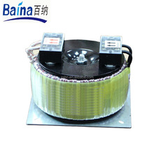 Single Output Type and AC/DC toroidal transformer with cable box
