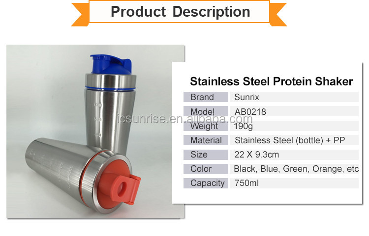 Cheapest Stainless Steel Protein Shaker