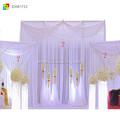 ice silk Indian wedding flower backdrops