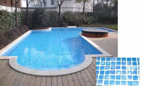 China Newest 1.2mm 1.5mm Thickness Swimming Pool Liner Pvc Material Pool Liner