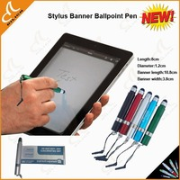 stylus banner pen use for ipad