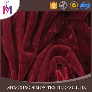 Import polyester spun velvet 100% cotton velvet/velveteen fabric knee blanket