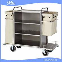 Wholesales Magic Series Abs Modular Bed Linen Changing House Keeping Trolley