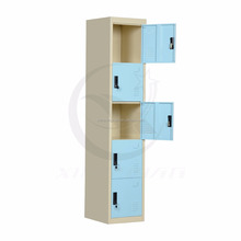 Adult use 5 door detachable small clothes storage locker for Indian
