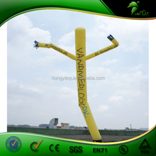 Hot Sale Custom Yellow Inflatable Air Dancer / Inflatable Sky Dancer / Inflatable Dancing Inflatable Advertising Man