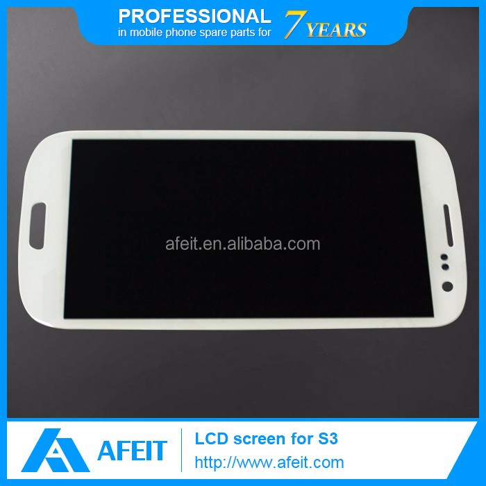 Quality AAA Cell Phone Touch Screen Display for Samsung Galaxy S3 LCD