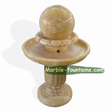 new home stone decoration customized ball fountain indoor