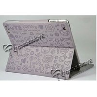 2013 Folded and Stand PU Leather Case for ipad2/3, Folded and Stand Case for ipad2/3