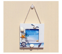 European style wood photo frames picture hanging wall