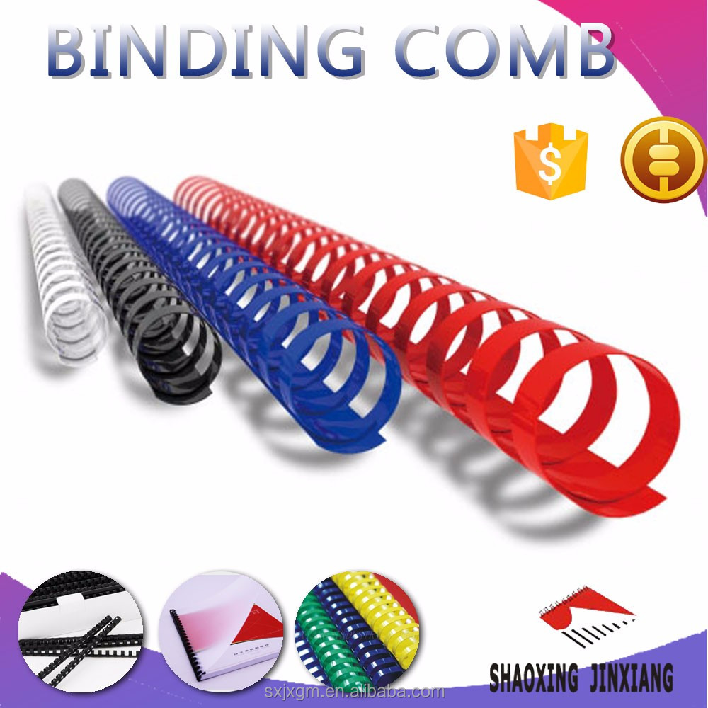 Plastic Comb Binding Spines 21 ring A4