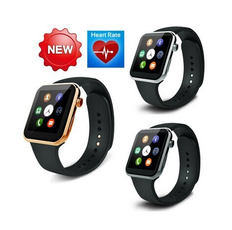 New A9 Bluetooth Smart Watch for Apple Android Smart Phone with Heart Rate Bluetooth Wrist smart watch