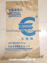 Stock logo printed pp woven cement bags with kraft paper lamination