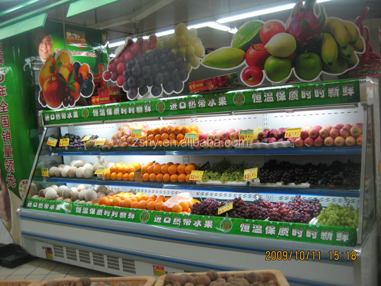 fruits and vegetable display for supermarket usage