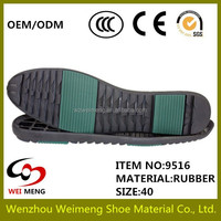synthetic rubber for mens shoes sole with fashional designs