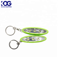 Bright 3 LED keychain light strobe bag light