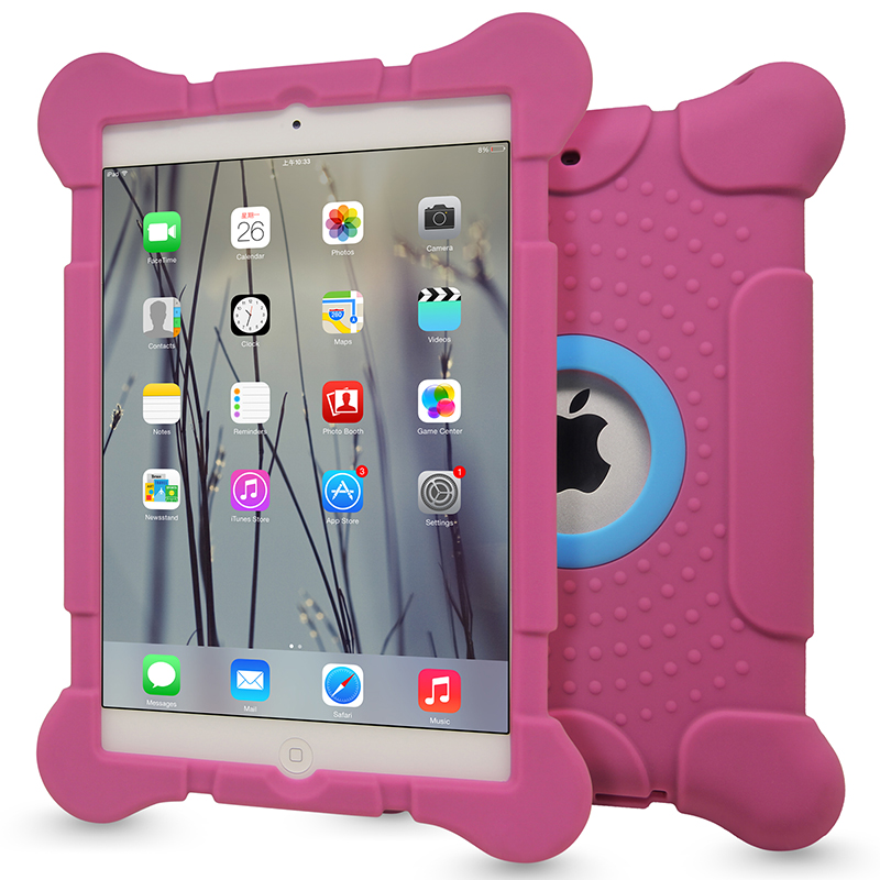 New Fashion Anti-Skid Soft Tablet Case For iPad Mini 1 2 3 4 Full-edged Protective