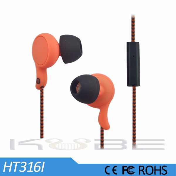 Portable Media Player Use in ear hot sell Headphone and earphone
